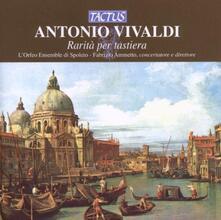 Rarità per tastiera - CD Audio di Antonio Vivaldi