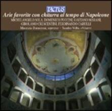 Arie favorite con chitarra al tempo di Napoleone - CD Audio