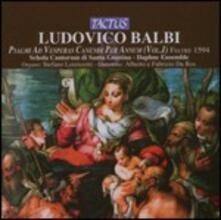 Psalmi ad Vesperas Canendi per Annum vol.1 - CD Audio di Ludovico Balbi
