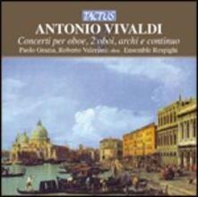 Concerti per oboe, 2 oboi, archi e continuo - CD Audio di Antonio Vivaldi