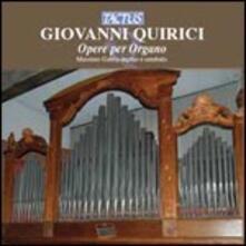 Opere per organo - CD Audio di Giovanni Quirici
