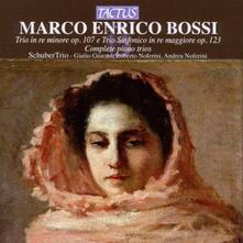Trio op.107 - Trio sinfonico op.123 - CD Audio di Marco Enrico Bossi
