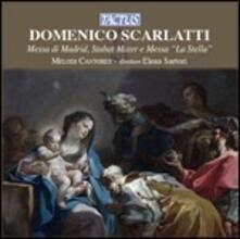 Messa La Stella - Stabat Mater - M di Madrid - CD Audio di Domenico Scarlatti