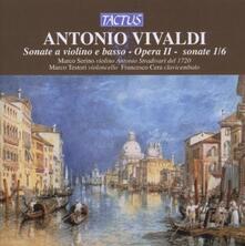 Sonate per violino e basso continuo op.2 - CD Audio di Antonio Vivaldi,Marco Serino