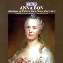 Sei sonate da camera - CD Audio di Anna Bon,Ensemble Oberon