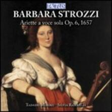 Ariette a voce sola - CD Audio di Barbara Strozzi