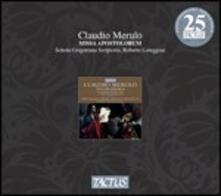Musica sacra - CD Audio di Claudio Merulo,Roberto Loreggian,Schola Gregoriana Scriptoria
