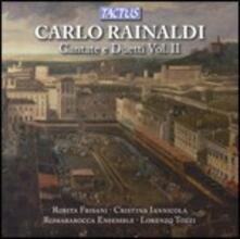 Cantate e duetti vol.2 - CD Audio di Carlo Rainaldi