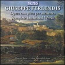 Musica orchestrale - CD Audio di Giuseppe Fenderlis
