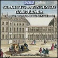 Musica per fortepiano - CD Audio di Giacinto Calderara,Vincenzo Calderara