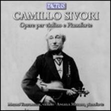 Musica per violino e pianoforte - CD Audio di Camillo Sivori