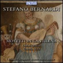 Mottetti in cantilena - CD Audio di Stefano Bernardi