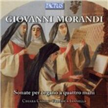 Sonate per organo a 4 mani - CD Audio di Giovanni Morandi