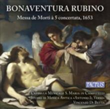 Messa de Morti à 5 concertatata - CD Audio di Cappella Musicale S. Maria in Campitelli,Bonaventura Rubino