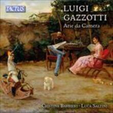 Arie da camera - CD Audio di Luigi Gazzotti,Cristina Barbieri,Luca Saltini