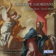 Opere sacre - CD Audio di Giuseppe Giordani,Coro Goffredo Petras