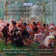 Musica per flauto e arpa dell'ottocento - CD Audio di Claudio Ortensi,Anna Pasetti