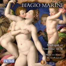 Madrigali e sinfonie - CD Audio + DVD di Biagio Marini,Musicali Affetti