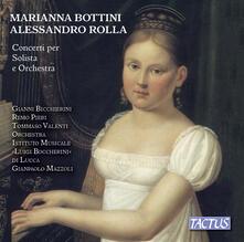 Concerti per solista e orchestra - CD Audio di Alessandro Rolla,Marianna Bottini