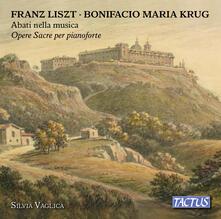 Abati nella musica. Musica sacra per pianoforte - CD Audio di Silvia Vaglica