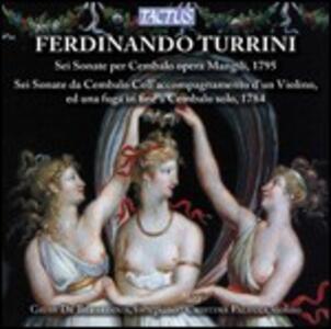 Musica per fortepiano e violino - CD Audio di Ferdinando Turrini