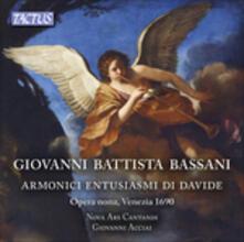 Armonici entusiasmi di Davide - CD Audio di Giovanni Battista Bassani,Nova Ars Cantandi