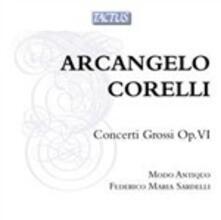 Concerti grossi op.6 - CD Audio di Arcangelo Corelli,Federico Maria Sardelli,Modo Antiquo