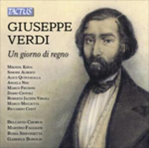 Un giorno di regno - CD Audio di Giuseppe Verdi