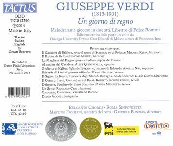 Un giorno di regno - CD Audio di Giuseppe Verdi - 2
