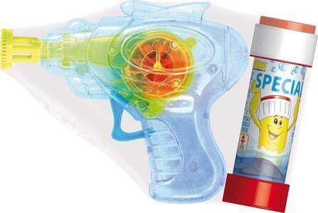 Giocattolo Dulcop Bubble World. Bolle di Sapone. Pistola Bolle con Luci Media. 60 Ml Dulcop