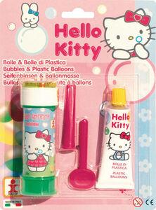 Giocattolo Bolle Sapone + Cristallo Hello Kitty Dulcop