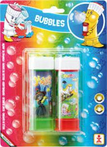 Dulcop Bolle Di Sapone. Color Bubbles. Pack 2 Flaconi 60 Ml