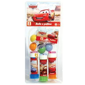 Bolle Sapone 3 Pezzi + Biglie Cars - 2