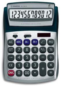 Cartoleria Metal Calcolatrice da Tavolo 12 cifre Osama