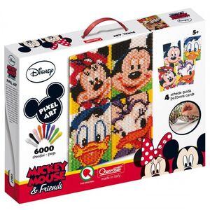 Giocattolo Pixel Art Disney. Topolino & Friends Quercetti 0