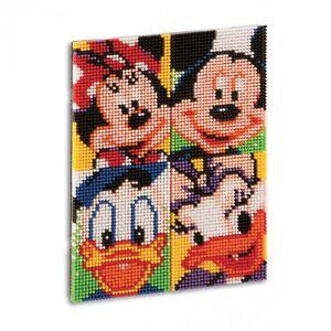 Giocattolo Pixel Art Disney. Topolino & Friends Quercetti 1