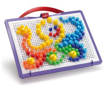 Giocattolo FantaColor Portable Small. 160 chiodini in tre dimensioni Quercetti 1