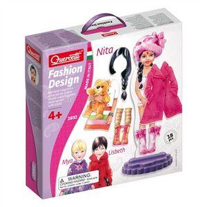 Giocattolo Fashion Design Nita Stencils Quercetti 0