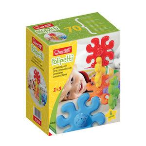 Giocattolo Daisy polipetti. 6 elementi in 6 colori diversi Quercetti 0