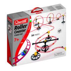 Giocattolo Roller Coaster Maxi Rail 16 m. 250 pezzi Quercetti