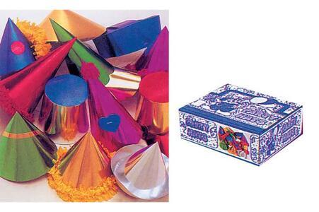 Box Espositore 72 Cappelli Mignon Metallizzati