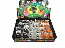 Idee regalo Anello Halloween Luminoso 1 Pz Gamesbond