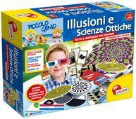 Giocattolo Piccolo Genio. Illusioni e Scienze Ottiche Lisciani