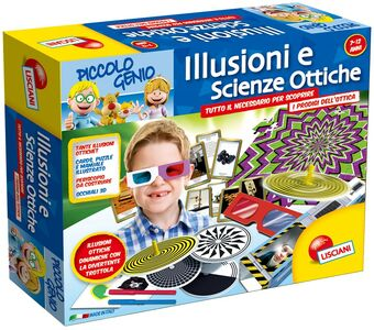 Giocattolo Piccolo Genio. Illusioni e Scienze Ottiche Lisciani 0