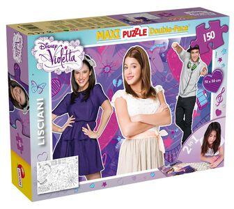 Giocattolo Puzzle double face Supermaxi 150 pezzi Violetta Tit 2 Lisciani 0