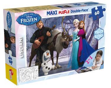 Frozen. Puzzle Double-Face Supermaxi 60 pezzi #01 - 2
