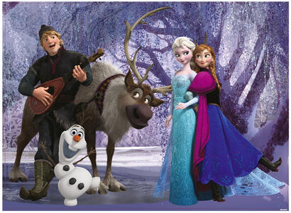 Frozen. Puzzle Double-Face Supermaxi 60 pezzi #01 - 4