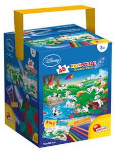Giocattolo Puzzle + Color Fustino Maxi 48 La Carica dei 101 Lisciani 0