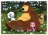 Giocattolo Puzzle + Color Fustino Maxi 48 Masha e Orso 1 Lisciani 2