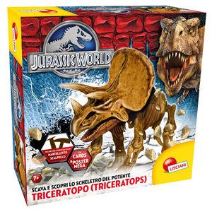 Giocattolo Jurassic World Super Kit Triceratopo Lisciani 0